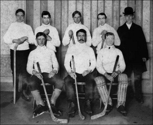1880's Nova Scotia Hockey Team
