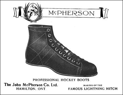 "McPherson's ""Lightning Hitch"" Hockey Boot"