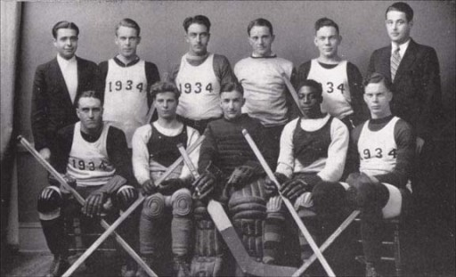 Senior Hockey Team, 1934 Interclass Champions