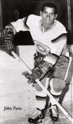 John Paris Jr. of Windsor, N.S. was the first black coach in pro hockey - 1994