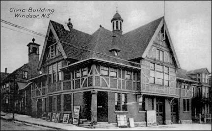 Windsor's Civic Building 1910