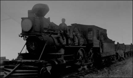 Queen Mab, first train on the N.S. Railway