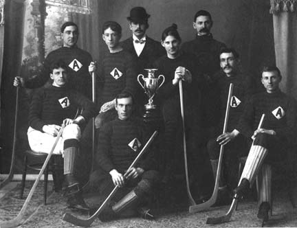 The Windsor Avonians and the Citizens Trophy in 1900