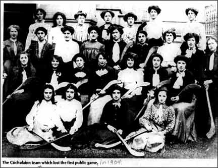 Irish Women's Camogie Team 1904