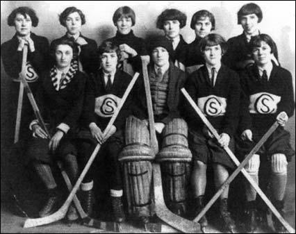 The Crystal Sisters Hockey Team 1926