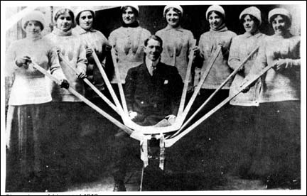 Liverpool Women's Ice Hockey Team 1913