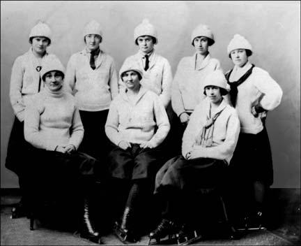 Middleton Ladies Ice Hockey Team 1922