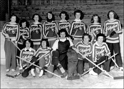 MT&T Maritime Tel & Tel Women's Ice Hockey Team