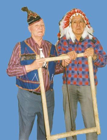 Sandy Julien and Raymond Cope