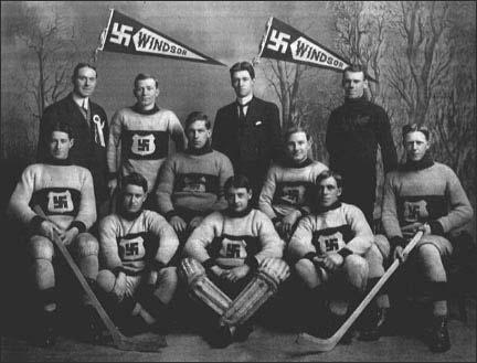 Windsor Swastikas Light Outfits 1912