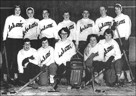 Windsor Rockettes Hockey Team Photo 1949