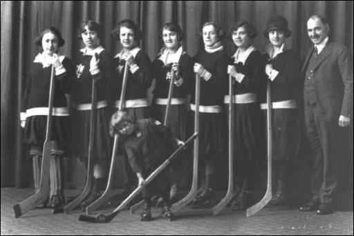Windsor Women's Ice Hockey Team 1924